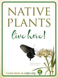 nativ plants native plant garden signs california native plant society