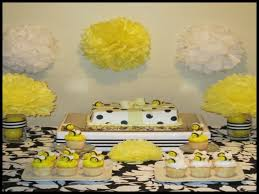 bee baby shower ideas bumble bee themed baby shower 50530 decor ideas