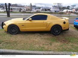 2012 Black Mustang Gt 2012 Yellow Blaze Metallic Tri Coat Ford Mustang Gt Premium Coupe
