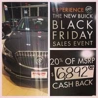 buick black friday barlow buick gmc auto dealership