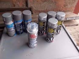Spray Cans Paint - alloy wheel spray cans paint primer silver laquer in nuneaton