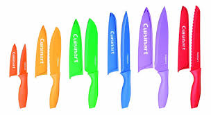 colorful kitchen knives cuisinart c55 01 12pcks advantage color collection 12