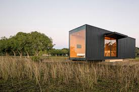 Modular Houses Prefabricated Modular Home Delivered Into The Countryside