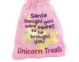 unicorn treat bags etsy