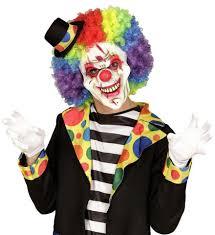 killer clown mask killer clown half mask the carnival store
