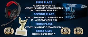 pubg tournament dgatez pubg tournament team gates