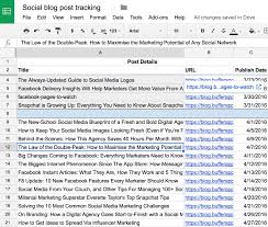 10 ready to go marketing spreadsheets to boost your productivity today