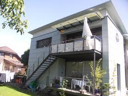 balkon metall balkon mit treppe aus metall k schluep ag