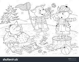 pigs fairy stock illustration 589047764