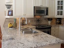 Pictures Of Backsplashes In Kitchen 15 Best Pictures Of White Kitchens With Granite Countertops Http