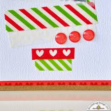 doodlebug design inc blog quick u0026 easy washi tape christmas tree
