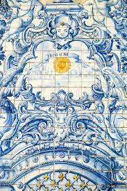 Tile Decoration Traditional Wall Tile Decoration Madeira Stock Photo Image