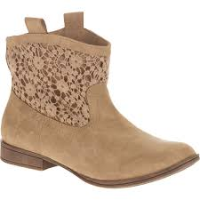 womens boots at walmart faded s ankle crochet boot walmart com
