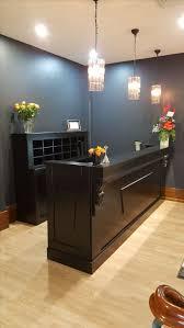 Reception Desk Black 25 best reception counters u0026 reception desks images on pinterest