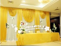wedding backdrop font 20ft 10ft white and font b gold b font wedding backdrop curtain with