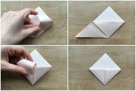 Step By Step Origami For - how to make an origami bookmark corner ted s