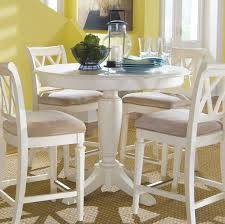 White Round Pedestal Dining Table Creditrestoreus - Round pedestal dining table in antique white