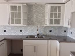 Kitchen Cabinet Glass Doors Furniture Be Trendy With The Use Of Frosted Kitchen Cabinet Doors