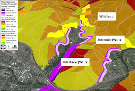 Washington Zoo Map by Risk Assessment Community Planning Assistance For Wildfire