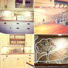 inexpensive kitchen backsplash inexpensive backsplash for kitchen use place mats as kitchen diy