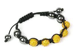 gold string bracelet images Swarovski crystal disco ball friendship bracelet yellow gold with jpg