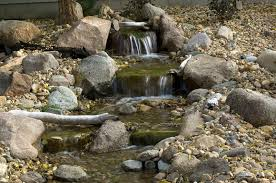 Backyard Waterfalls Ideas Garden Design Garden Design With Small Backyard Waterfalls Ideas