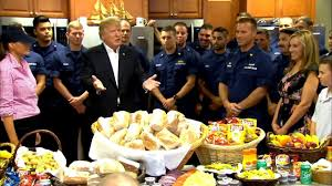 donald thanksgiving day speech to coast guard goes the