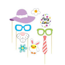 easter photo props aliexpress buy 29pcs attached photo booth props easter