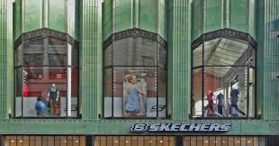 footwear giant skechers can run but it can u0027t hide from abusive