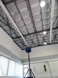 new acoustic treatment projects in multi purpose halls