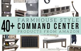 farmhouse style how to make a farmhouse style command center the weathered fox