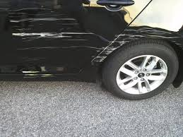help damage done on one side door and quarter panel kia forum