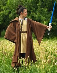 costume wizard robe star wars jedi robe cape cloak disney rey luke skywalker obi