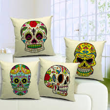 Home Decor Pillows Skull Pillows Pillow Suggestions With More Than 1500 Different