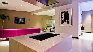 modern hollywood hills bachelor pad with indoor car park parks