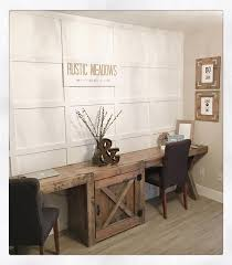 Diy Wooden Desktop by Best 25 Rustic Desk Ideas On Pinterest Rustic Computer Desk