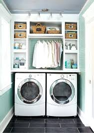 Laundry Room Cabinets With Hanging Rod Laundry Room Cabinet W Mocha Laundry Cabinet Kit Laundry Room