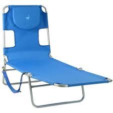 Ostrich Chaise Lounge Chair Ostrich Mp102 Folding Beach Chaise Lounge Ocean Blue