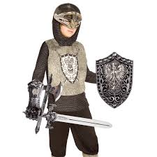 knight silver child costume kit buycostumes com
