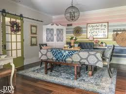 colors for living room and dining room farmhouse tour diy show off diy decorating and home