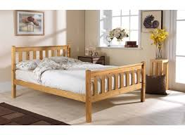 shaker high foot pine bed frame bed guru the sleep specialists