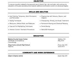 Resume Examples For Cosmetology by Cosmetologist Example Resume Cosmetology Format Cosmetologist Job