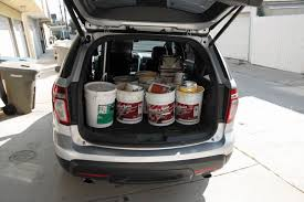 ford explorer trunk space 2012 ford explorer term road test cargo space