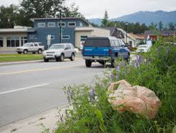 Alaska Wildfire Road Closures by Mat Su Alaska Dispatch News