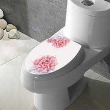 themed toilet seats pink floral seat cover with modern white toilet for
