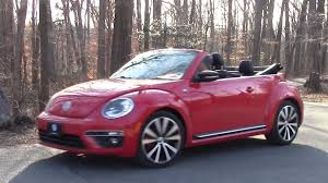 red volkswagen convertible vw r line convertible road test u0026 review by drivin u0027 ivan youtube