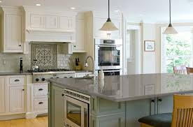 kitchen dark kitchen island with quartz countertop modern look