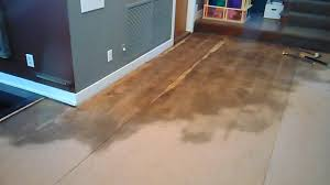 Cork Flooring Installation Everwood Flooring Project Profiles Water Damage Repair With