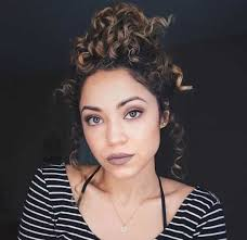 hairstyles for curly and messy hair 5 smartest messy buns for curly hair 2018