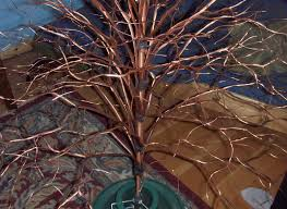 our handmade copper tree a life unprocessed